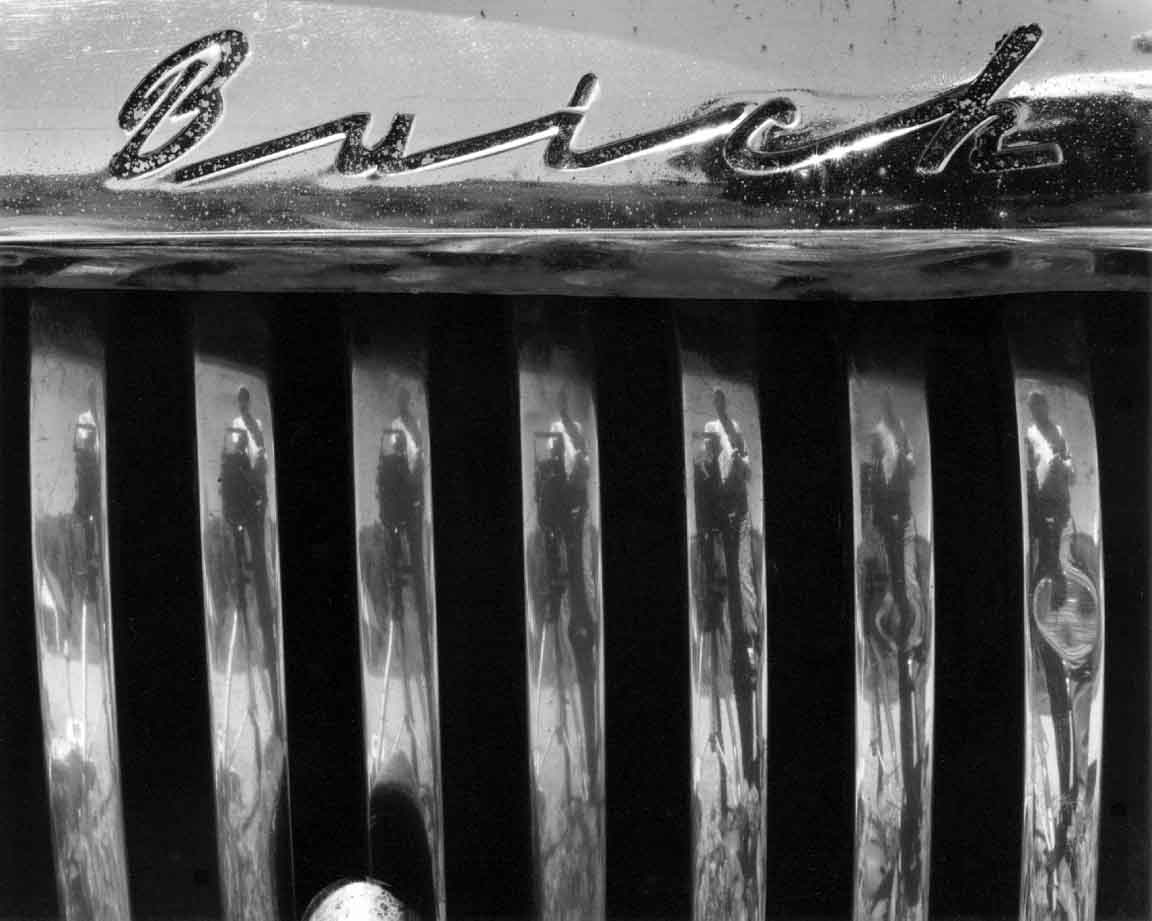 Buick Grilled Photographer