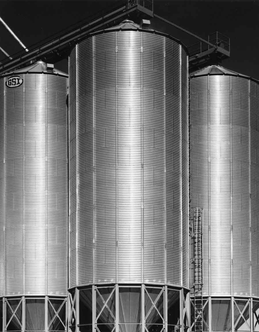 Corrugated Metal Silos #3