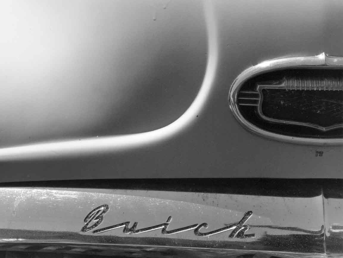 Curved Crease, 50 Buick