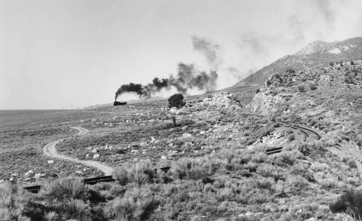 Smoke Over Steptoe Valley, Nevada, 1996