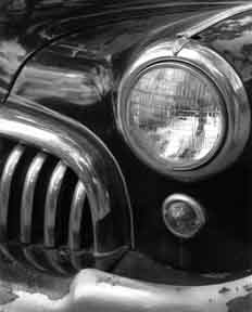 Buick Headlight & Grill, Vertical