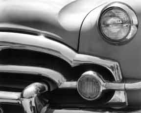 Packard Headlight and Grill